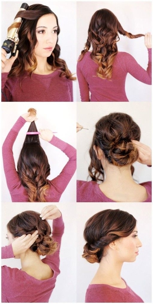 Gorgeous And Easy To Follow Wedding Guest Hairstyles For Long Hair Within Easy Wedding Guest Hairstyles For Medium Length Hair (View 7 of 15)