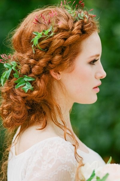 Featured Photo of Wedding Hairstyles For Long Red Hair
