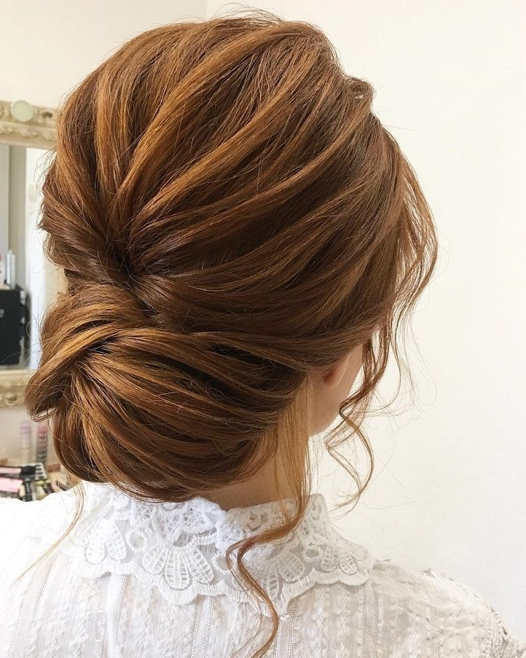 Gorgeous Feminine Wedding Hairstyles To Inspire You | Pinterest Within Elegant Updo Wedding Hairstyles (View 12 of 15)