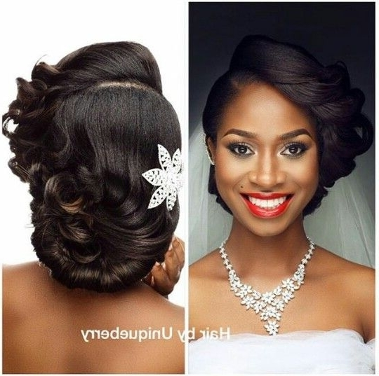 Gorgeous Hair And Make Up! | Hair | Pinterest | Hair Style, Wedding Regarding Wedding Hairstyles For Relaxed Hair (Gallery 1 of 15)