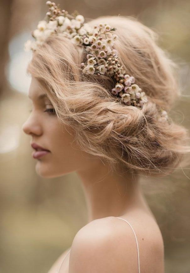 Gorgeous Vintage Wedding Hairstyles For Medium Length Hair   Elite Regarding Vintage Wedding Hairstyles For Medium Length Hair (Gallery 2 of 15)