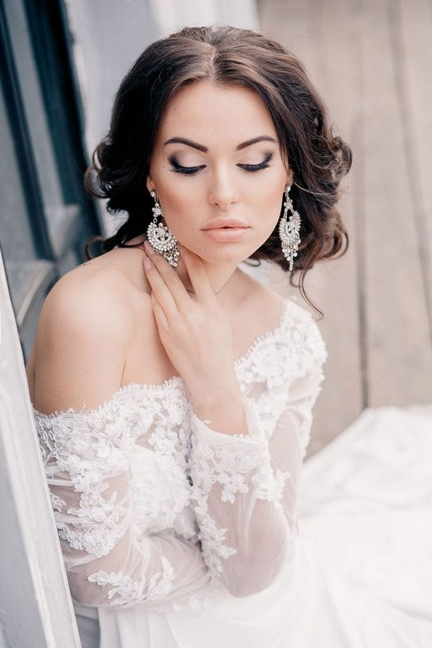 Gorgeous Wedding Hairstyles And Makeup Ideas | Classic Weddings Inside Wedding Hairstyles And Makeup (Gallery 6 of 15)