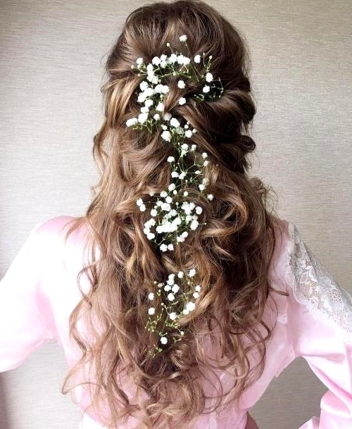 Great Curly Wedding Hairstyles Throughout Wedding Hairstyles For Long Hair With Curls (Gallery 12 of 15)