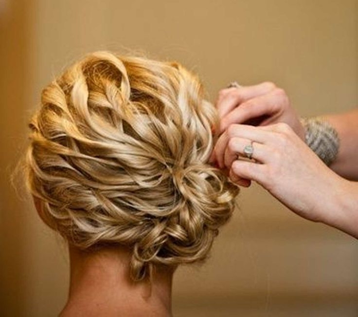 Great Mid Length Wedding Hairstyle – Different Medium Wedding Within Wedding Hairstyles For Medium Length Thick Hair (Gallery 4 of 15)