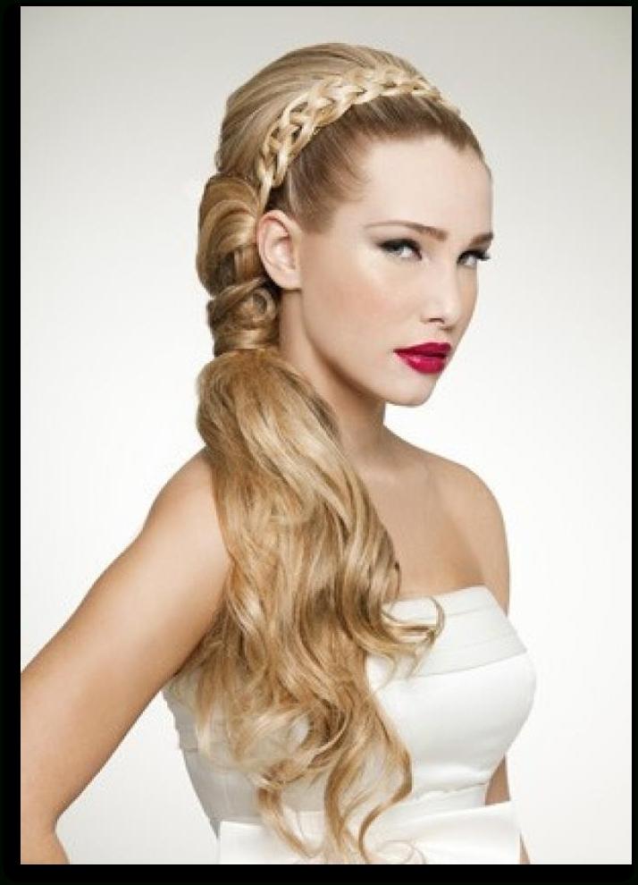 Grecian Wedding Hair | Roman Grecian Hairstyles Oscar De La Renta For Grecian Wedding Hairstyles For Long Hair (View 3 of 15)