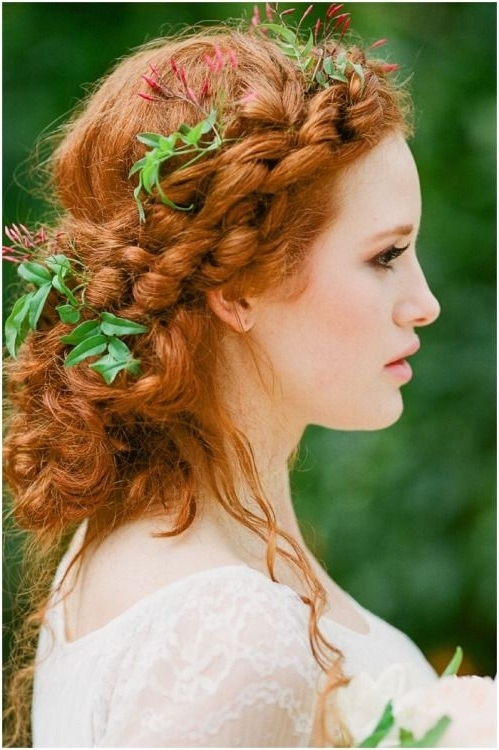 Green Medows Cottage | Pinterest | Redheads, Red Hair And Red Heads For Wedding Hairstyles For Red Hair (Gallery 1 of 15)