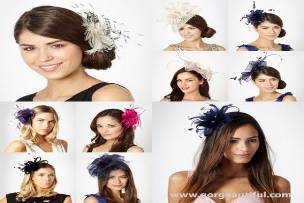 Guest Hairstyles For A Wedding With Fascinator – Best Hair Style Within Wedding Guest Hairstyles With Fascinator (Gallery 6 of 15)