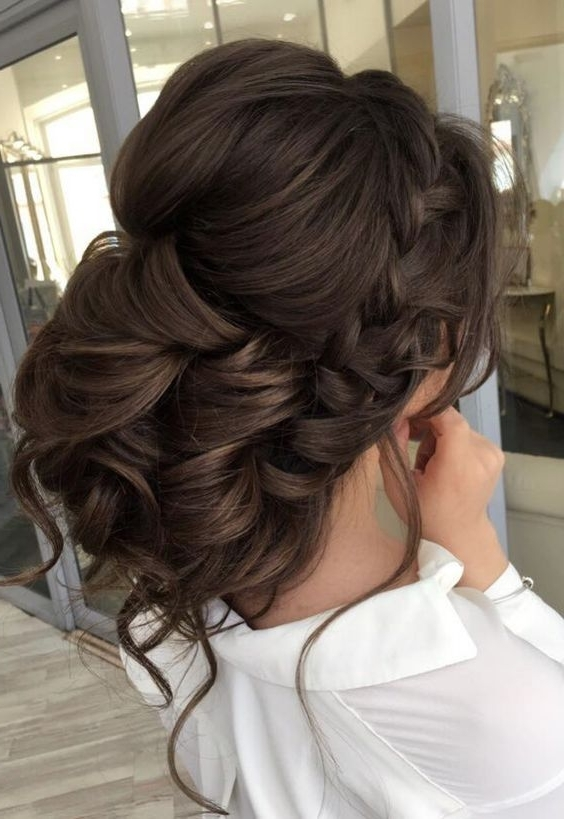 Displaying Photos of Curly Updos Wedding Hairstyles (View 9 of 15 ...