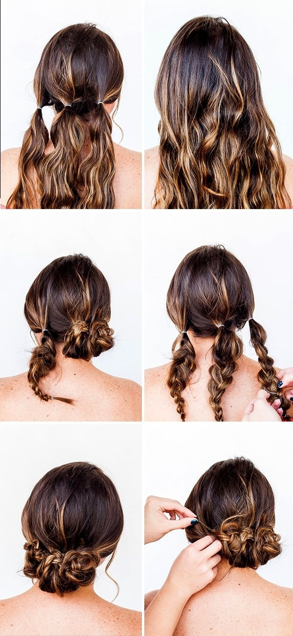 Hair Hack: Valentine's Day Hair Tutorial In 10 Minutes | Pinterest Inside Quick And Easy Wedding Hairstyles For Long Hair (View 6 of 15)