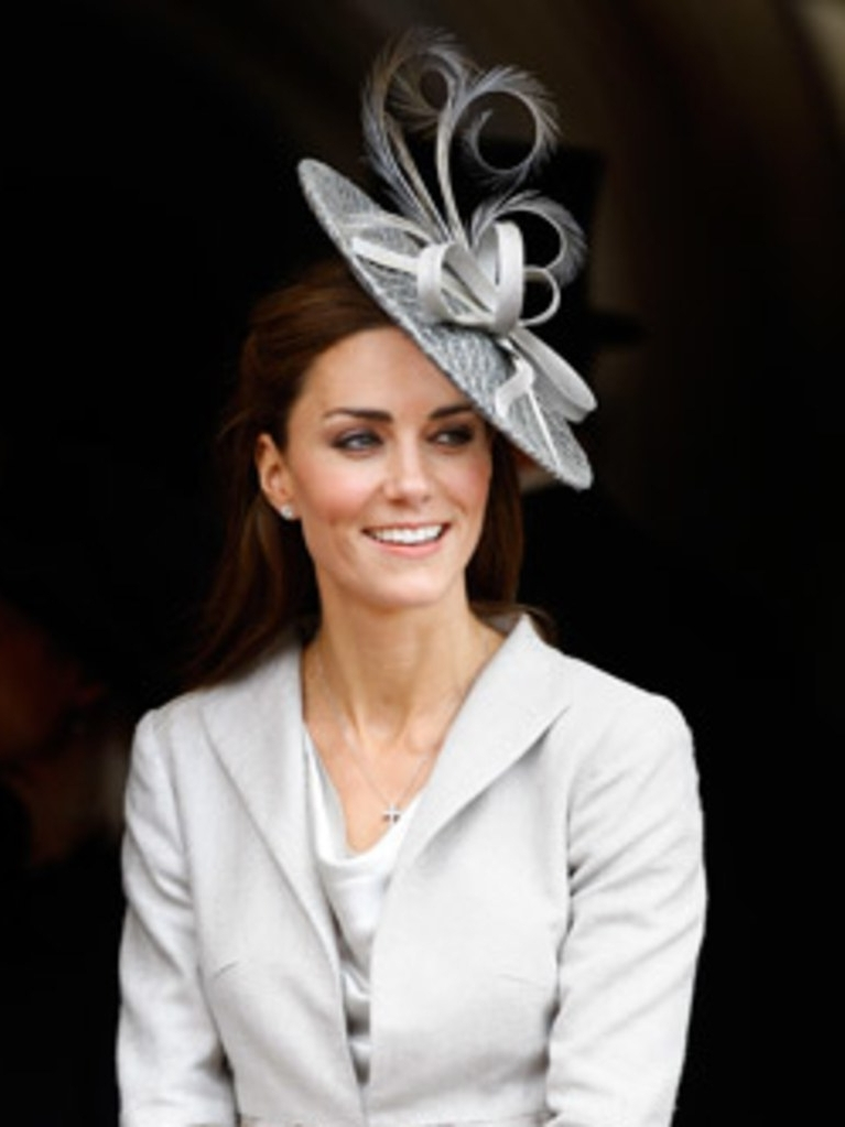 Hair Ideas: How To Wear A Fascinator (Without Looking Stupid) | Allure Pertaining To Wedding Guest Hairstyles For Medium Length Hair With Fascinator (View 14 of 15)