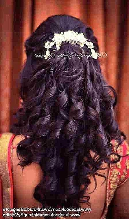 Hair Style For Wedding Reception Endearing Wedding Hairstylesunique In Wedding Reception Hairstyles For Long Hair (View 6 of 15)