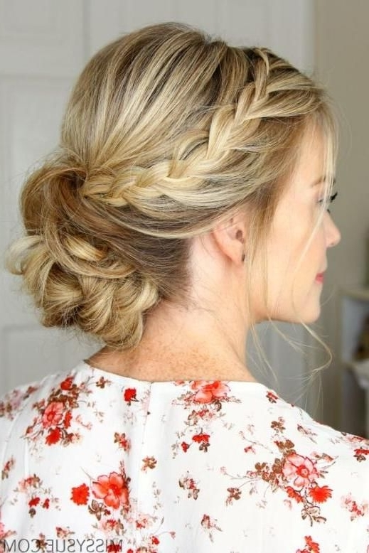 Hair – Swoon Worthy Summer Wedding Hairstyles #2827082 – Weddbook Inside Summer Wedding Hairstyles For Long Hair (View 12 of 15)
