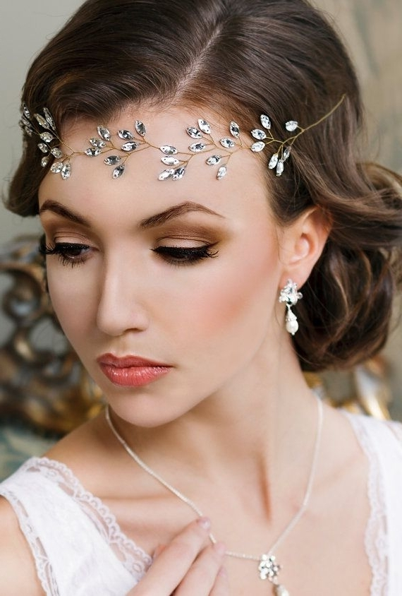 Hair – Wedding Hairstyles #2654611 – Weddbook Within Wedding Hairstyles With Hair Jewelry (View 9 of 15)