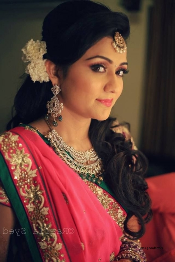 Hairstyle For Indian Wedding Ceremony New 39 Best Images About For Wedding Engagement Hairstyles (View 8 of 15)