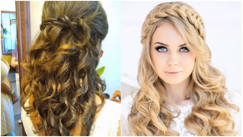 Hairstyle For Wedding Party Simple Long Hairstyles For Wedding Party Regarding Hairstyles For Long Hair For A Wedding Party (View 6 of 15)