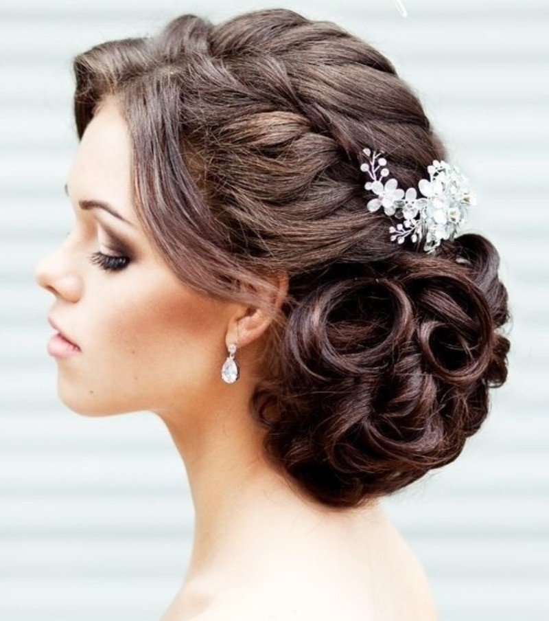 Hairstyle Wedding Unique Wedding Hairstyles You Can Choose 2018 Within Quirky Wedding Hairstyles (View 8 of 15)