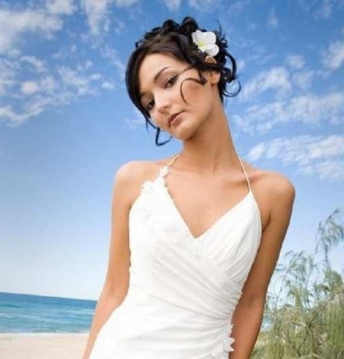 Hairstyles : Beach Wedding Hairstyles For Short Hair Best Wedding Within Beach Wedding Hairstyles For Short Hair (View 6 of 15)