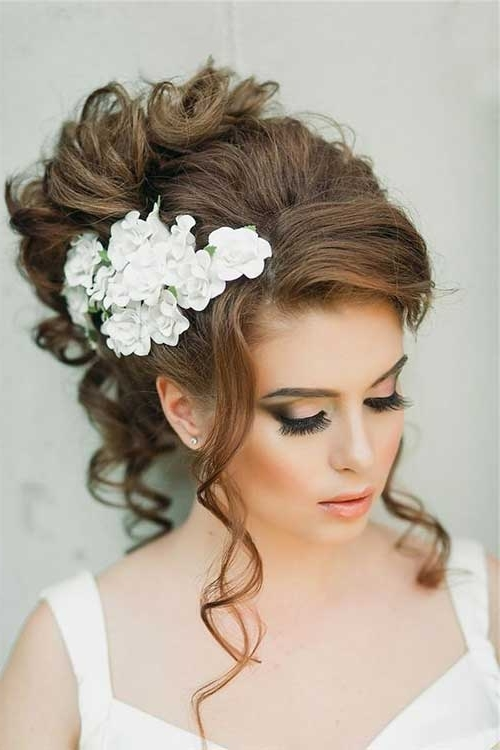 Hairstyles For Long Curly Hair Updos – Hairstyle For Women & Man For Wedding Updo Hairstyles For Long Curly Hair (View 2 of 15)