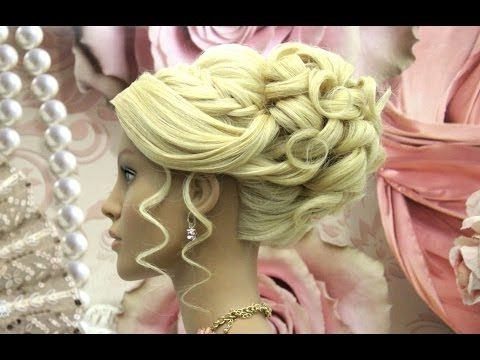 Hairstyles For Long Hair Tutorial. Wedding Prom Updo (View 8 of 15)
