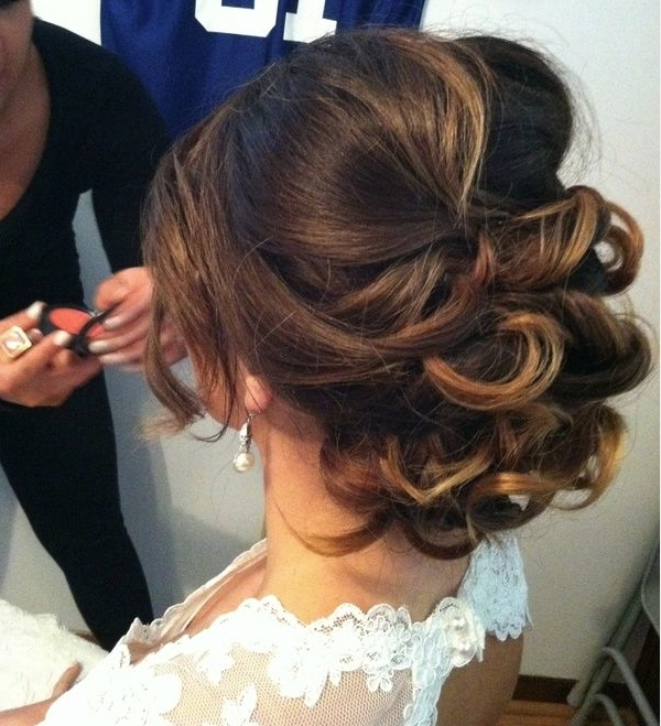 Hairstyles For Short Hair On Wedding Day Hairstyles For Short Hair Pertaining To Wedding Hairstyles That Last All Day (View 13 of 15)