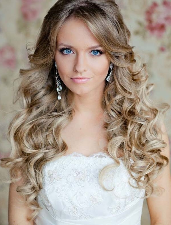 Hairstyles For Wedding Long Amazing Long Hairstyles For Wedding Throughout Hairstyles For Long Hair For A Wedding Party (View 11 of 15)