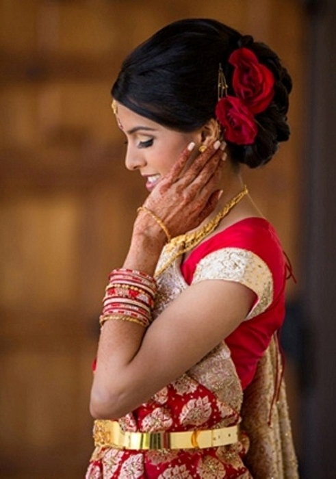 Hairstyles For Wedding Reception – Hairstyle For Women & Man Throughout Indian Wedding Reception Hairstyles For Long Hair (View 14 of 15)