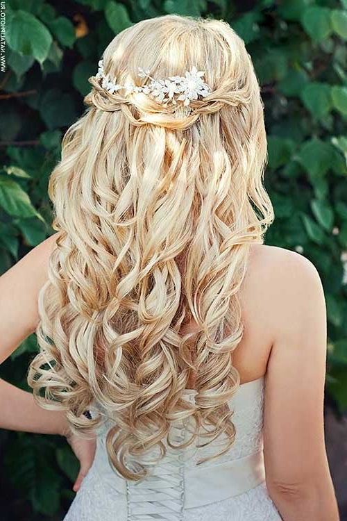 Hairstyles For Weddings For Long Hair – Hairstyles Ideas Regarding Long Wedding Hairstyles For Bridesmaids (View 13 of 15)