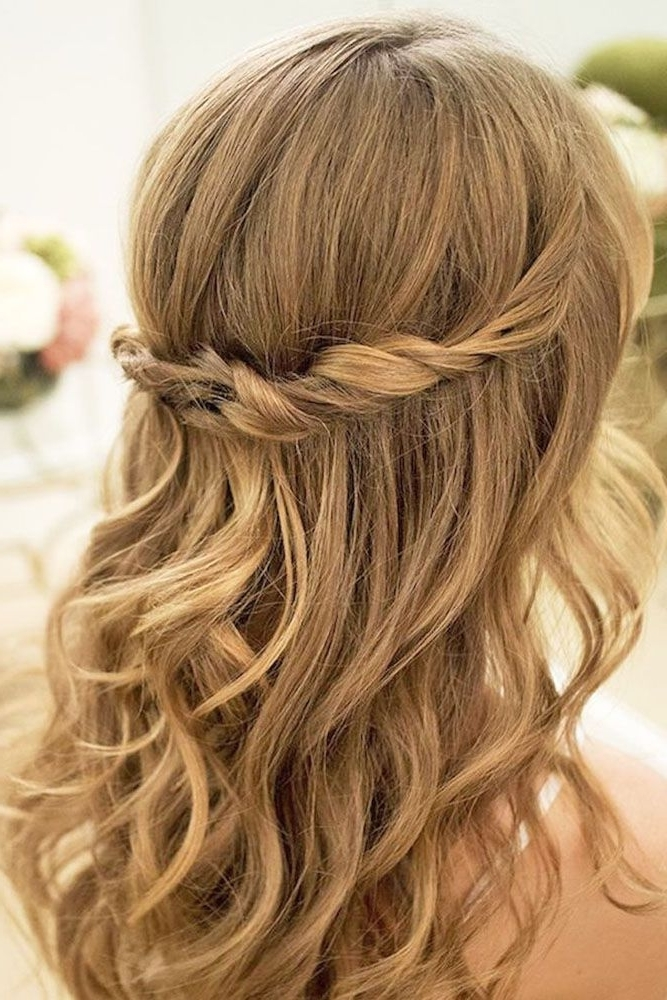 Hairstyles For Weddings – Wedding Decor Ideas With Easy Bridesmaid Hairstyles For Medium Length Hair (View 10 of 15)