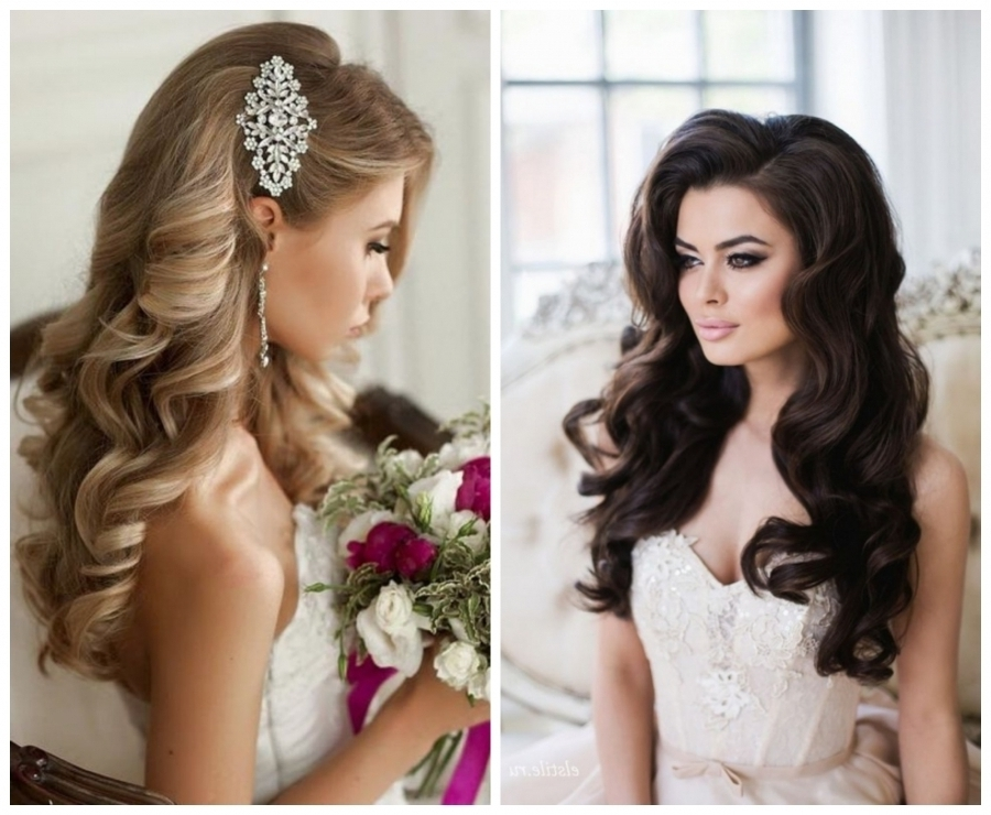 Hairstyles Loose Curls Bridal Hairstyles For Your Big Day Azazie With Regard To Big Curls Wedding Hairstyles (View 9 of 15)