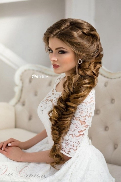 Hairstyles : Vintage Wedding Hairstyles For Long Hair Wedding Intended For Retro Wedding Hairstyles For Long Hair (View 9 of 15)