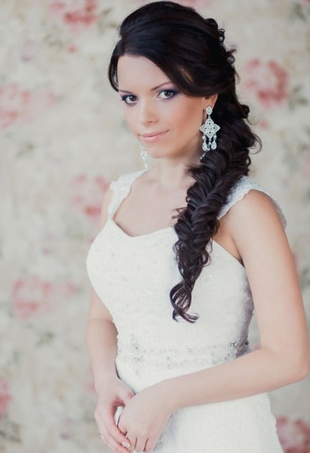 Hairstyles With Side Braids For Wedding | Talk Hairstyles Regarding Side Braid Wedding Hairstyles (View 8 of 15)