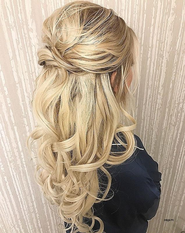 Half Up Half Down Curly Hairstyles For Medium Length Hair Elegant Throughout Elegant Wedding Hairstyles For Medium Length Hair (View 9 of 15)