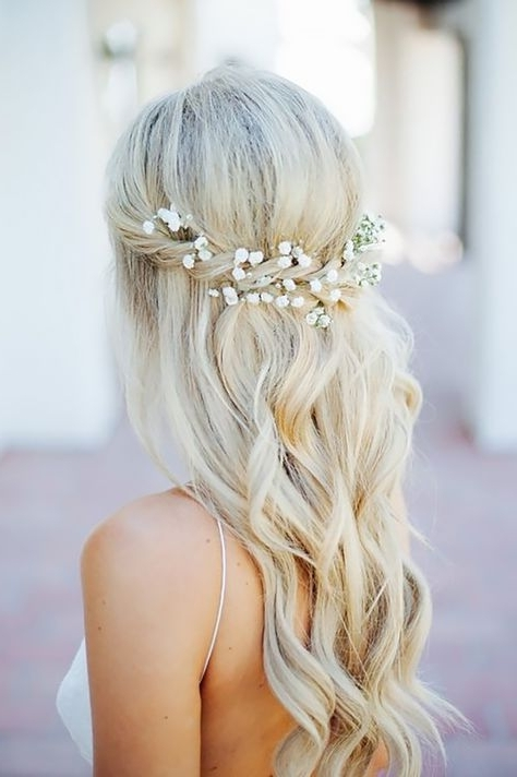 Half Up Half Down Wedding Hairstyles Ideas ? See More: Http://www With Regard To Country Wedding Hairstyles For Short Hair (View 14 of 15)