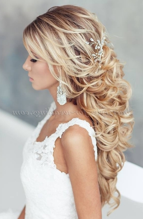 Half Up Wedding Hairstyles – Half Up Half Down Wedding Hairstyle Regarding Wedding Hairstyles (View 13 of 15)