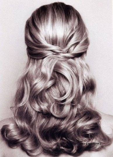 Half Updos For Short Hair For Weddings Best Of Wedding Hairstyles In Down Short Hair Wedding Hairstyles (View 7 of 15)