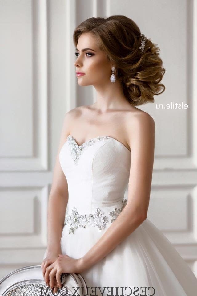 Hd Wallpapers Wedding Hairstyles For Long Hair And Strapless Dress In Wedding Hairstyles For Long Hair And Strapless Dress (View 11 of 15)