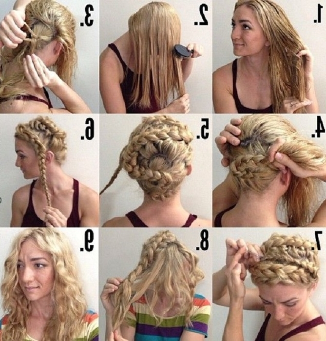 How To Curl Your Hair Overnight Save Some Time On The Morning Of Regarding Wedding Hairstyles Without Heat (View 10 of 15)