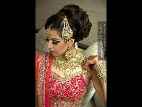 How To Make Best Hair Style Indian Bridal Juda | Wedding Indian Regarding Wedding Juda Hairstyles (View 9 of 15)