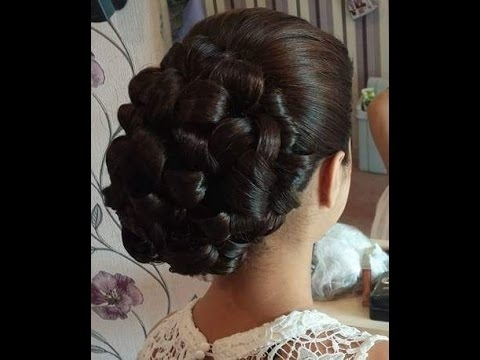 How To Make Popular Bride Best Hair Style Indian Bridal Juda Intended For Wedding Juda Hairstyles (View 15 of 15)