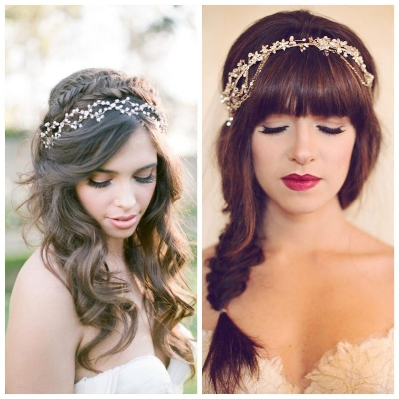 How To Match Your Hairstyle To Your Wedding Dress Regarding Wedding Hairstyles To Match Your Dress (View 14 of 15)