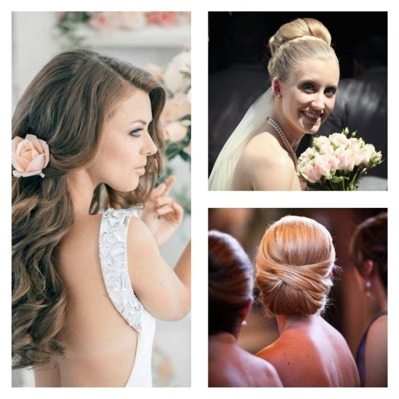 How To Match Your Hairstyle To Your Wedding Dress With Wedding Hairstyles To Match Your Dress (View 6 of 15)