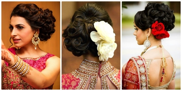 How To Prepare For A Big Fat Indian Wedding | Indian Fashion Blog With Regard To North Indian Wedding Hairstyles For Long Hair (View 6 of 15)