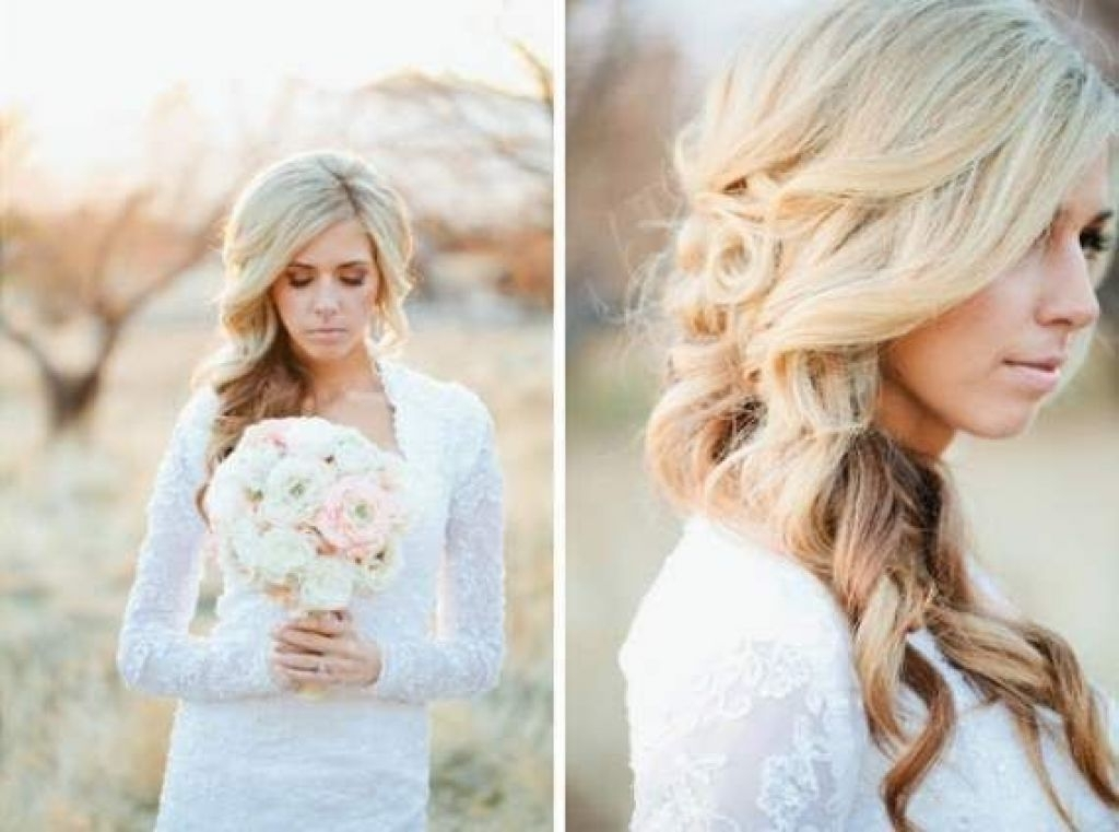 How To Style Wavy Hair Without Heat Archives – Girly Hairstyle With Wedding Hairstyles Without Heat (View 11 of 15)
