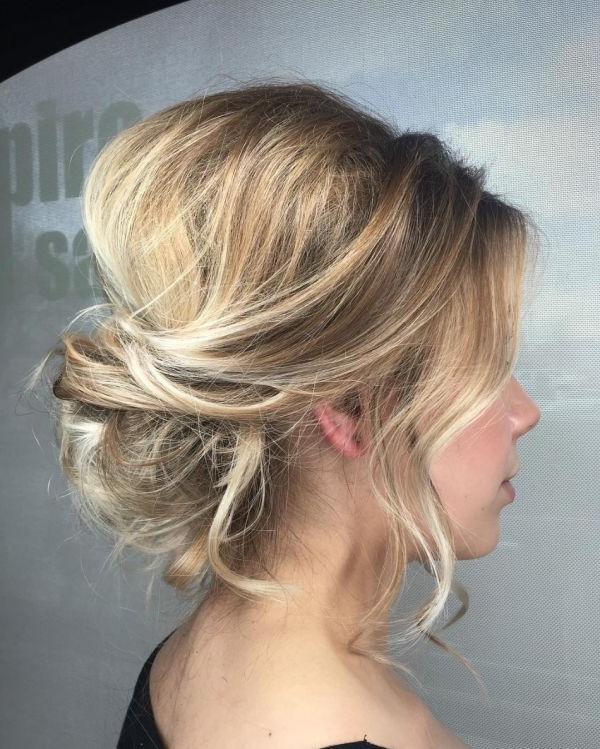 How To Wedding Hairstyles For Medium Length Hair – The Newest Hairstyles Regarding Elegant Wedding Hairstyles For Shoulder Length Hair (View 9 of 15)
