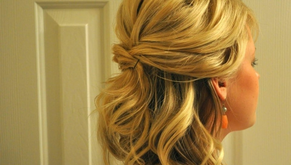 Ideas Wedding Hair Shoulder Length Down Medium Curly Diy Hairstyles Pertaining To Wedding Hairstyles For Shoulder Length Thick Hair (View 6 of 15)