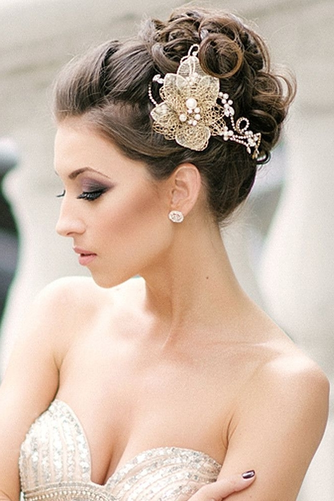Image Result For Bridal Updo Hairstyles With Veil | Bridal In Wedding Updos For Long Hair With Veil (View 9 of 15)