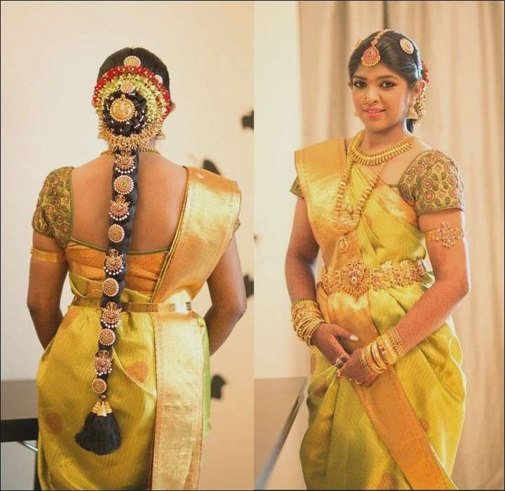 Featured Photo of Hindu Bride Wedding Hairstyles
