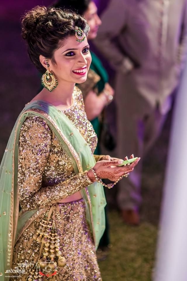 Indian Wedding Hairstyles Fashion Trends 2018 2019 For Bridals With Indian Wedding Hairstyles (View 9 of 15)