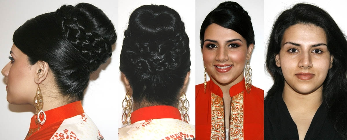 Indian Wedding Hairstyles For 2012 | Vancouver Mobile Hair Stylist Within Easy Indian Wedding Hairstyles For Long Hair (View 6 of 15)