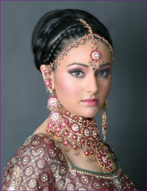 Indian Wedding Hairstyles For Short Curly Hair – Ali Wolf Style Wedding With Indian Wedding Hairstyles For Short Curly Hair (View 13 of 15)